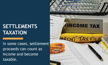 Settlement taxation