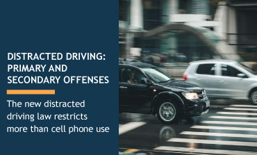 Distracted Driving: Primary and Secondary Offenses