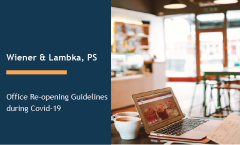 Office Re-opening Guidelines during Covid-19