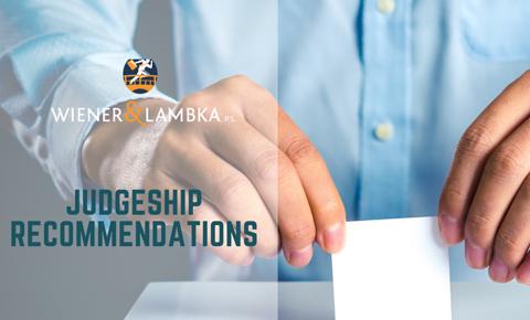 Judgeship recommendations1 - W&L